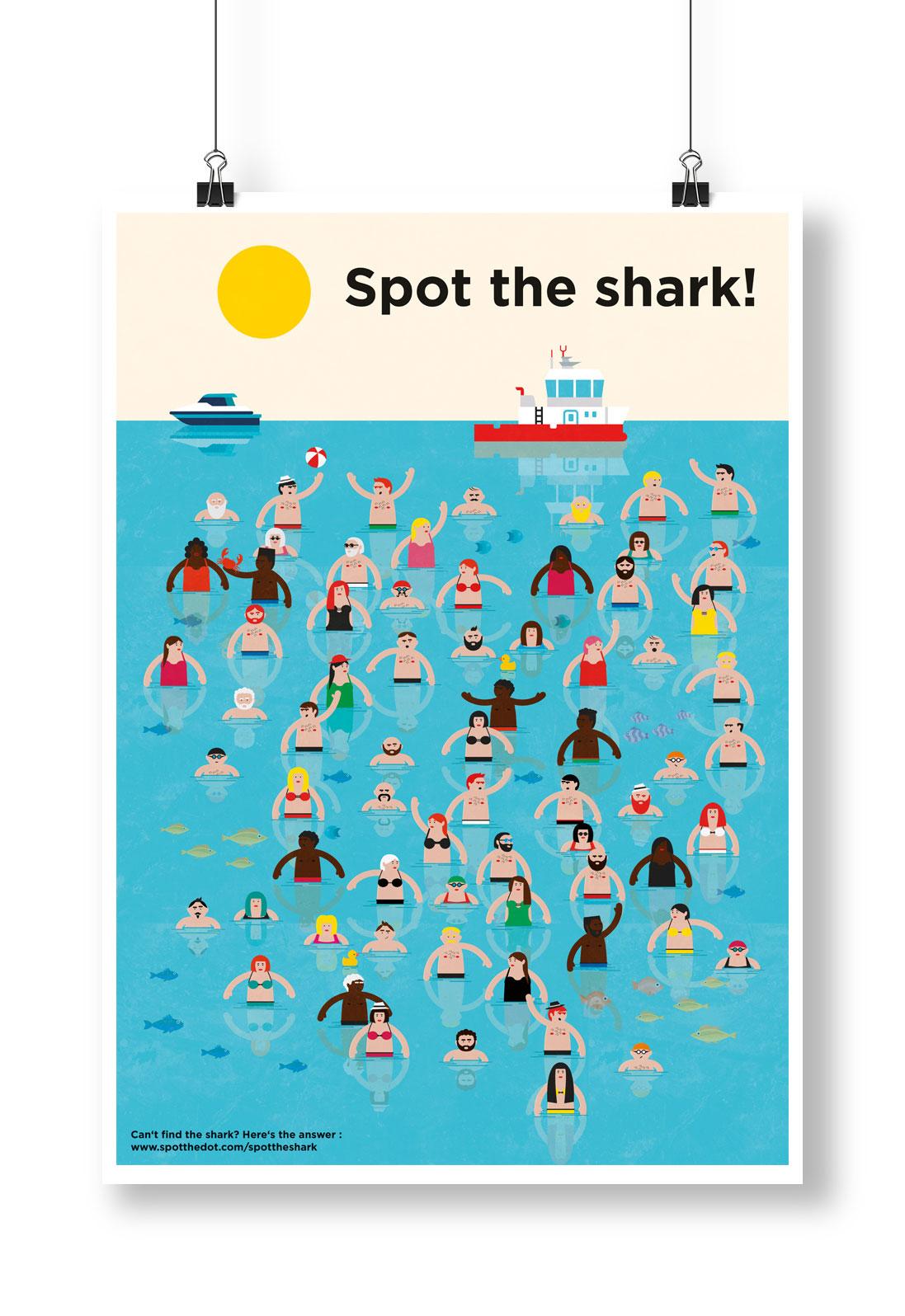 Spot de haai 1