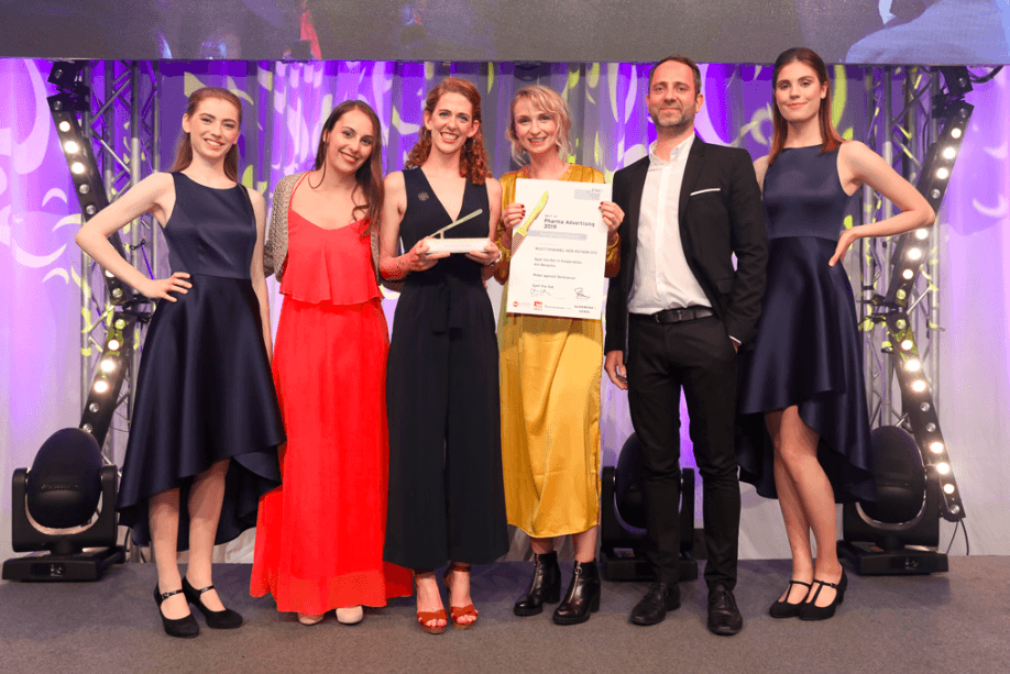 Spot the Dot winnaar van twee 'Goldene Skalpell' (Best of Pharma Marketing 2019) Awards! 5