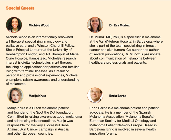 """Melanoma Revealed: A European Exhibit""in Barcelona 1"