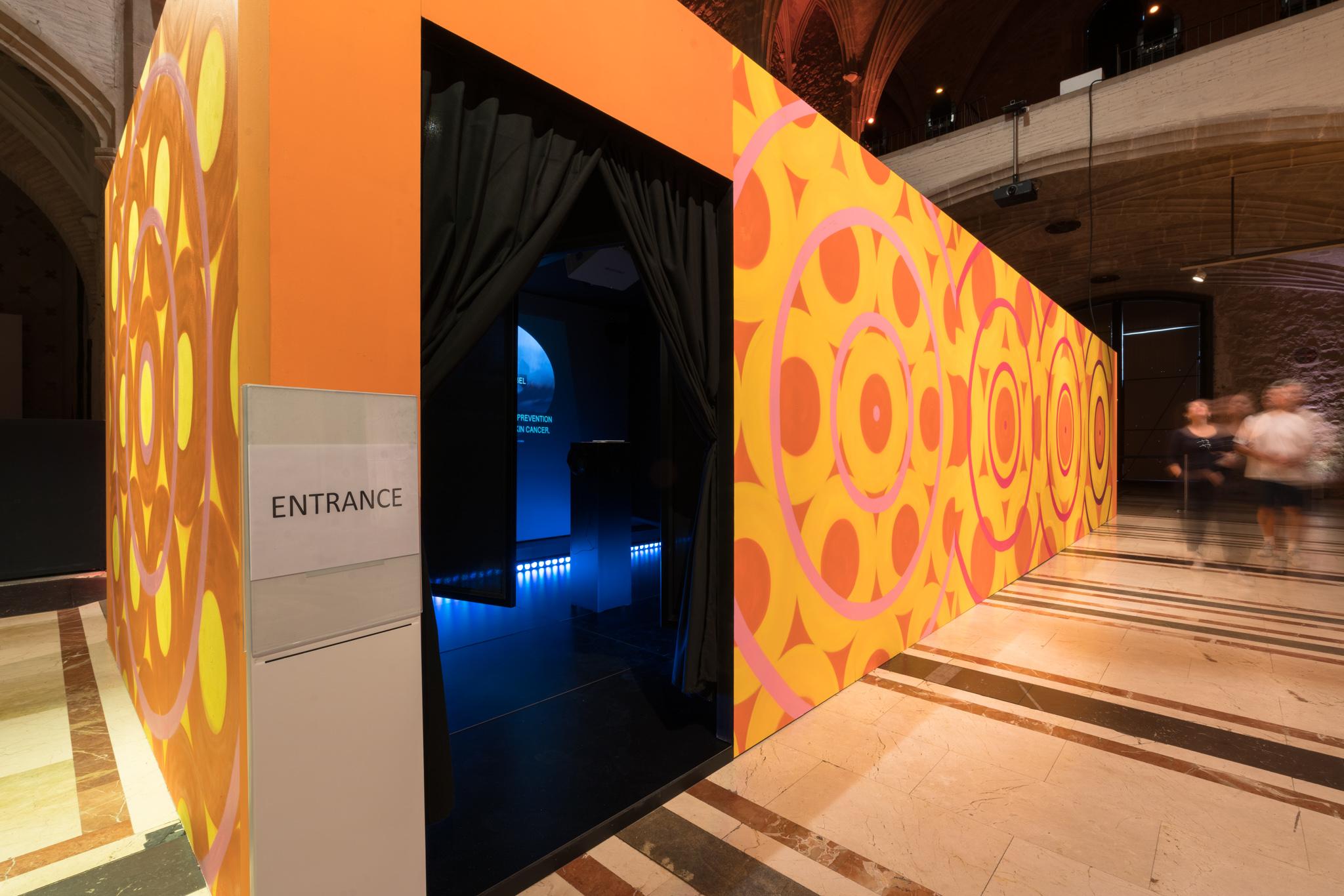 """Melanoma Revealed: A European Exhibit"" in Barcelona 7"