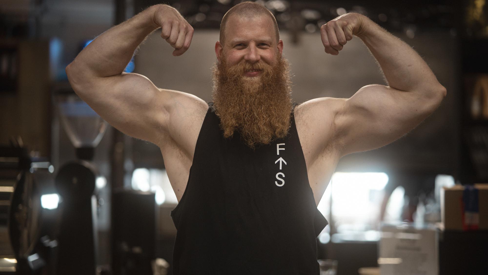Faster Than Skincancer met gewichtheffer Alexander Pürzel 8